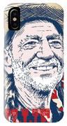 Willie Nelson Pop Art IPhone X Case