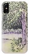 Willow Print IPhone Case