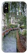 Willows Over The River IPhone Case