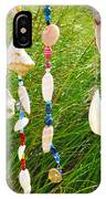Wind Chimes At The Beach IPhone Case