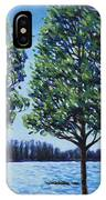 Wind In The Trees IPhone Case