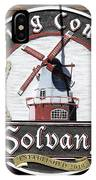 Wind Mill Brewery Sign IPhone Case