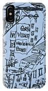 Wind Of Change 2014. Poezja I Sztuka Jest Wspolnym Jezykiem Swiata  IPhone X Case