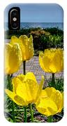 Wind Point Tulips IPhone Case
