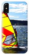 Wind Surfer II IPhone Case