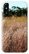 Windswept Grassy Meadow IPhone Case