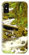 Winding Through The Forest IPhone Case