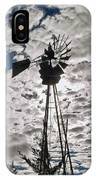 Windmill In The Clouds IPhone Case