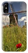 Windmill Poppies  IPhone Case
