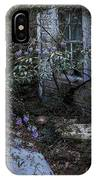 Window And Flowers IPhone Case