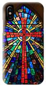 Window At The Little Church In La Villita IPhone Case