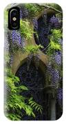 Window Behind Wisteria IPhone Case