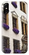 Window Boxes In Germany IPhone Case