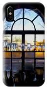 Window In A Bar IPhone Case