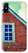 Window In Brick House IPhone Case