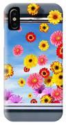 Window Of Flowers IPhone Case