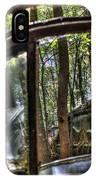 Window To A Window Via Tree IPhone Case