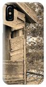 Window To Nowhere - Sepia IPhone Case