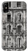 Windows And Balconies 1 IPhone Case