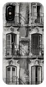 Windows And Balconies 2 IPhone Case
