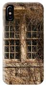 Windows And Weeds IPhone Case