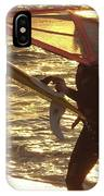 Windsurfer At Sunset IPhone Case