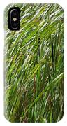Windswept Cattails IPhone Case