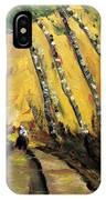 Windy Countryside Day IPhone Case