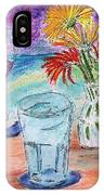 Wine And Flowers 2 IPhone X Case