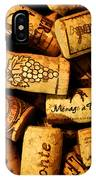 Wine Corks - Art Version IPhone Case