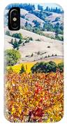 Wine Country Napa C.a. IPhone Case