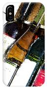 Wine In A Row IPhone Case