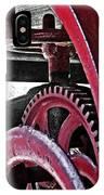 Wine Press Gears IPhone Case