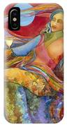Wine Woman And Song IPhone Case
