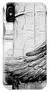 Wing It Bw IPhone Case