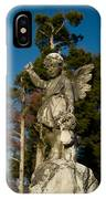 Winged Girl 13 IPhone Case