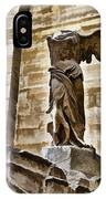 Winged Victory - Louvre IPhone Case