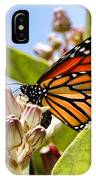 Wings Up Monarch Butterfly By Diana Sainz IPhone Case