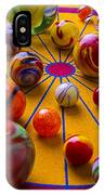 Winning At Marbles IPhone Case