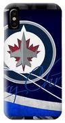 Winnipeg Jets Christmas IPhone Case