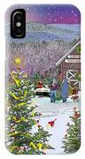 Winter At Campton Farm IPhone Case