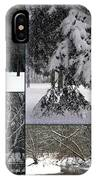 Winter At Petrifying Springs Park IPhone Case