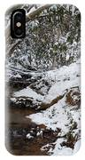 Winter At The Creek IPhone Case