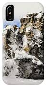 Winter At The Stony Summit IPhone Case