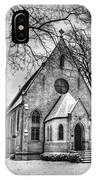 Winter Church IPhone Case