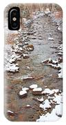 Winter Creek Scenic View IPhone Case