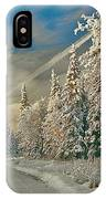Winter Drive IPhone Case