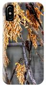 Winter Foliage Old House 13126 IPhone Case