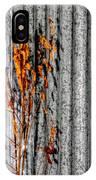 Winter Foliage Tin 13134 IPhone Case