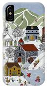 Winter Fun IPhone Case